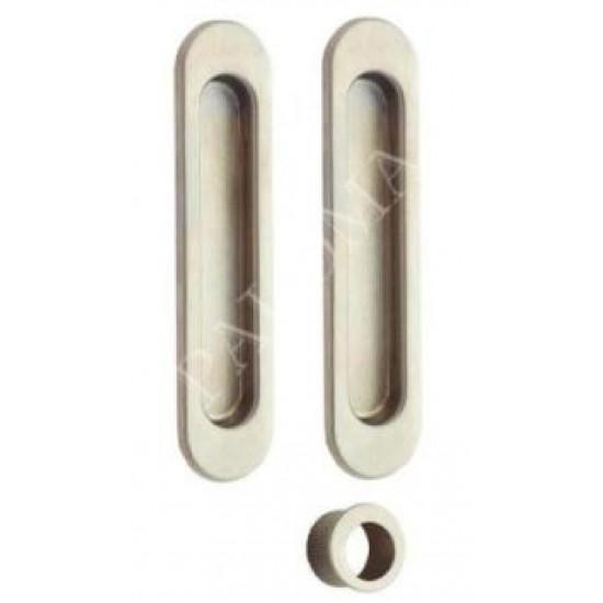 Ручки для раздвижных дверей PALOMA SDH 401. SN никель матовый
