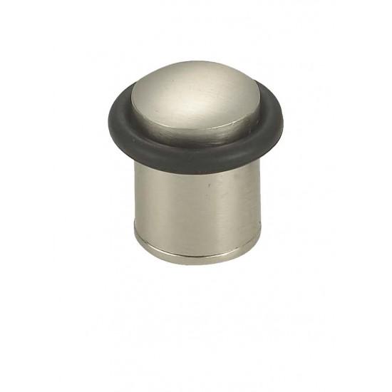 Ограничитель дверной напольный RENZ DS 33. SN никель матовый