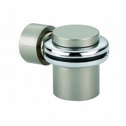 Ограничитель дверной напольный, магнитный RENZ DSM 34. SB латунь матовая