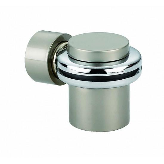 Ограничитель дверной напольный, магнитный RENZ DSM 34. AB бронза античная