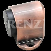 Ограничитель дверной напольный RENZ DS 31. AC медь античная