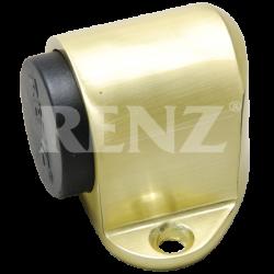 Ограничитель дверной напольный RENZ DS 31. SB латунь матовая