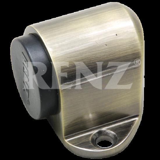 Ограничитель дверной напольный RENZ DS 31. AB бронза античная