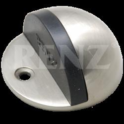 Ограничитель дверной напольный RENZ DS 44. SN никель матовый