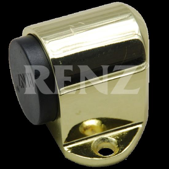 Ограничитель дверной напольный RENZ  DS 31. PB латунь блестящая