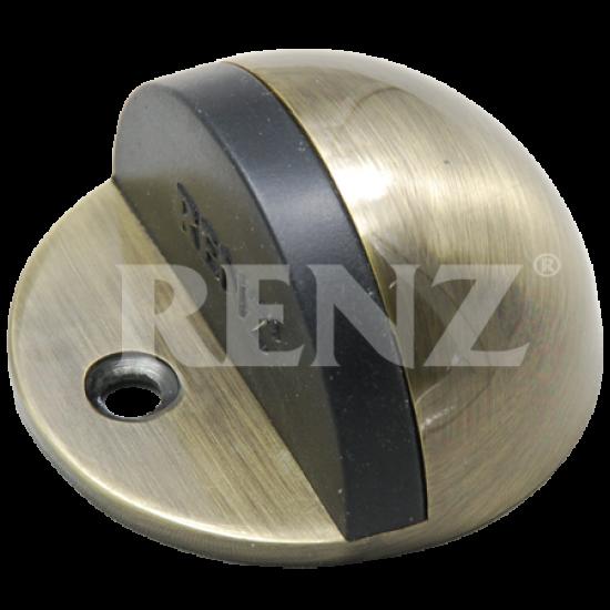Ограничитель дверной напольный RENZ DS 44. AB бронза античная