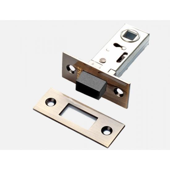 Защелка дверная магнитная RENZ Magn 5-50 AB бронза ант.