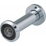 Дверной глазок FUARO DVZ2, 16/200/60x100 угол обзора 200. CP Хром