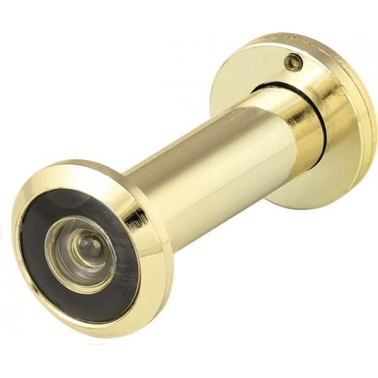 Дверной глазок FUARO DVZ3, 16/200/50x90 угол обзора 200 GP Золото