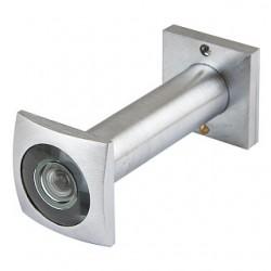 Глазок дверной КВАДРАТНЫЙ ARMADILLO DVG6 SQ, 16/70х110 SC Мат.хром
