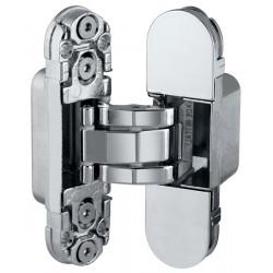 Дверная петля скрытой установки AGB E30200.03.06 (никель) петля ECLIPSE 2.0 (4 накладки в комплекте)