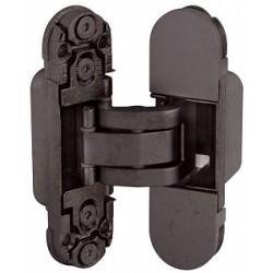 Дверная петля скрытой установки AGB E30200.03.22 (бронза) петля ECLIPSE 2.0 (4 накладки в комплекте)