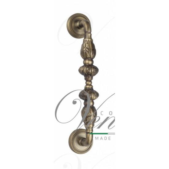 """Ручка скоба Venezia """"LUCRECIA"""" 300мм (250мм) D3 античное серебро"""
