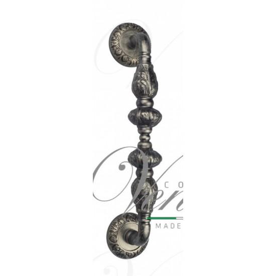 """Ручка скоба Venezia """"LUCRECIA"""" 300мм (250мм) D4 античное серебро"""