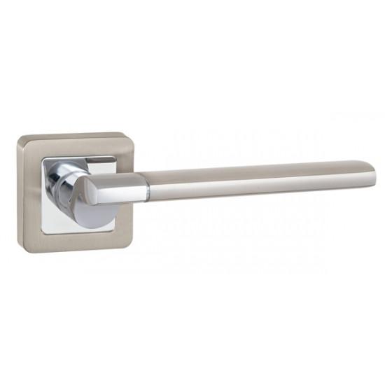 Ручка раздельная PUNTO GALAXY QR SN/CP-3 матовый никель/хром