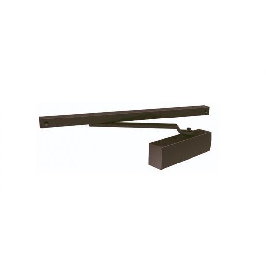 Доводчик дверной со скользящей тягой ARMADILLO DCS (коричневый)