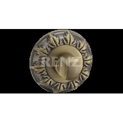 Завертка к ручкам декоративная RENZ BK 10. AB бронза античная