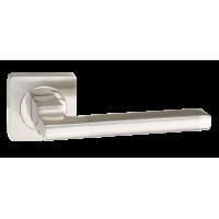 Ручка дверная PUERTO AL 514-02. SN/NP никель матовый/никель блестящий