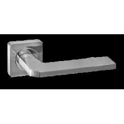 Дверная ручка Renz Кераско DH 97-02 SC, хром матовый
