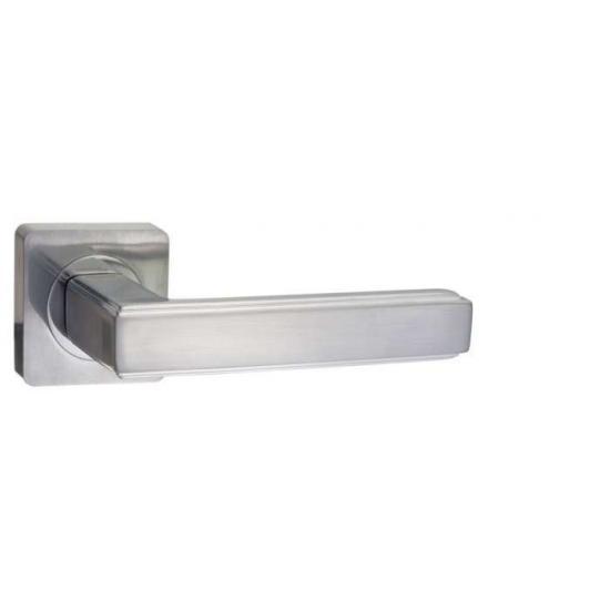 Дверная ручка Renz Арона DH 96-02 SC, хром матовый