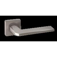 Дверная ручка Renz Кераско DH 97-02 MSN, никель супер матовый