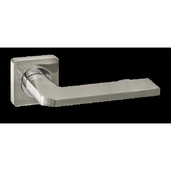 Дверная ручка Renz Кераско DH 97-02 SN, никель матовый