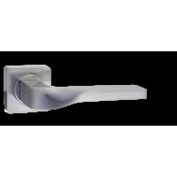 Дверная ручка Renz Эннио DH 98-02 SC, хром матовый