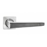 Дверная ручка Renz Чиэра INDH 311-02 SW/CP, супер белый-хром блестящий