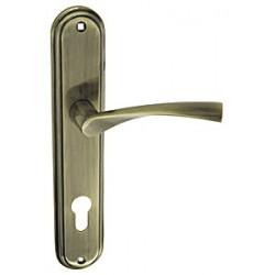 Ручка дверная FUARO 0112 CK-85/AB БРОНЗА