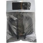 Ручка дверная с пружиной Fuaro DH-0433 NE черная. для замка FL-0432, 0433, 0434