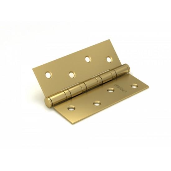 Петля универсальная FUARO 4BB/BL 100x75x2,5 SB (мат. золото) БЛИСТЕР