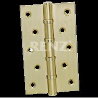 Петля стальная 125мм., универсальная, без колпачка RENZ 125-4BB FH. SN никель матовый