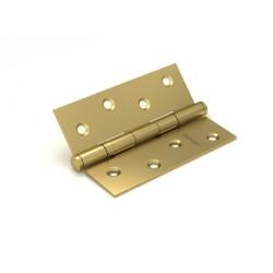 Петля универсальная FUARO 2BB/BL 100x75x2,5 SB (мат. золото) БЛИСТЕР
