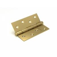 Петля универсальная FUARO 2BB 100x75x2,5 SB (мат. золото)