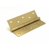 Петля универсальная FUARO 2BB/BL 125x75x2,5 SB (мат. золото) БЛИСТЕР