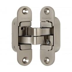 Петля скрытой установки с 3D-регулировкой ARMADILLO Architect 3D-ACH 60 SN Матовый никель прав. 60 кг.