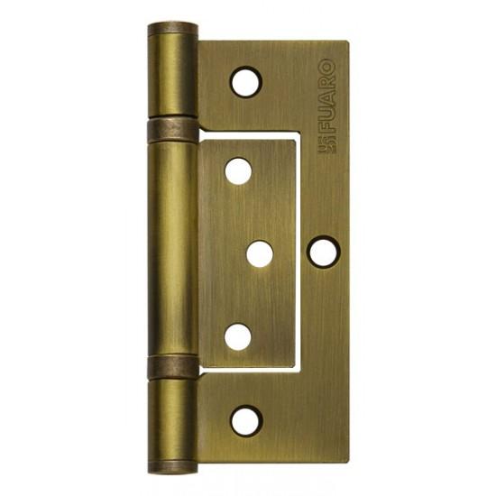 Петля универсальная без врезки FUARO 300-2BB/BL 100x2,5 WAB (мат. бронза) БЛИСТЕР