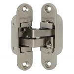 Петля скрытой установки с 3D-регулировкой ARMADILLO Architect 3D-ACH 40 SN Матовый никель прав. 40 кг.