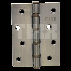 Петля стальная эконом-вариант TIXX 100x75x2 FH AB бронза античная
