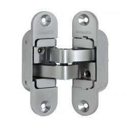 Петля скрытой установки с 3D-регулировкой ARMADILLO Architect 3D-ACH 60 SC Матовый хром прав. 60 кг.