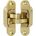Петля скрытой установки с 3D-регулировкой ARMADILLO Architect 3D-ACH 40 SG Матовое золото лев. 40 кг.