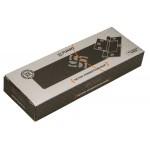 Петля универсальная без врезки FUARO 300-2BB 100x2,5 AB (бронза)