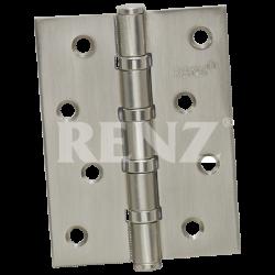 Петля стальная универсальная без колпачка RENZ 100-4BB FH. SN никель матовый