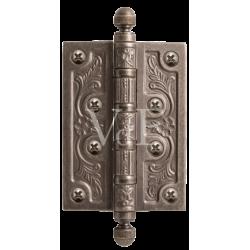 Петля латунная VAL DE FIORI 125 мм.VDF 125-4BB CH. SL серебро античное