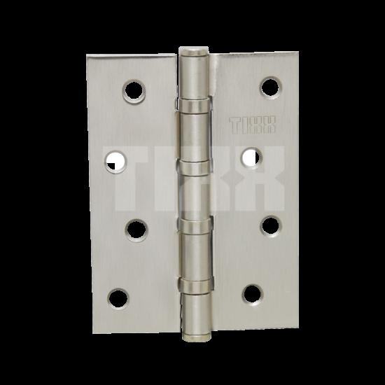 Петля стальная эконом-вариант TIXX 100x75x2 FH SN никель матовый