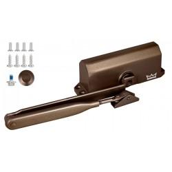 Доводчик дверной DORMA TS 77 EN4, с рычажной тягой, коричневый